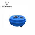 China Shaft Mounted Gearbox Pulley Speed Reducer 2