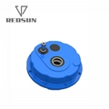 China Shaft Mounted Gearbox Pulley Speed Reducer 5