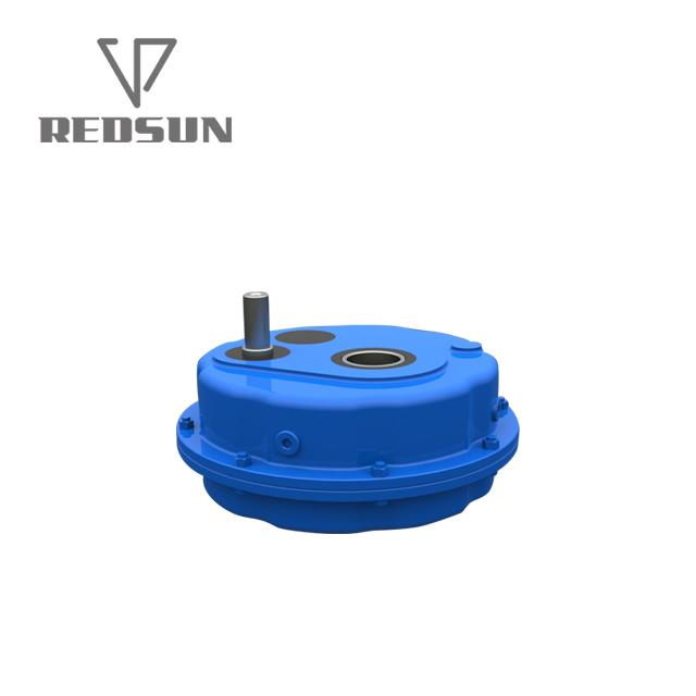 China Shaft Mounted Gearbox Pulley Speed Reducer 6