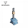 SWL series electric worm stainless steel gear screw lift jack