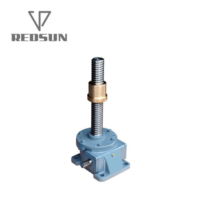 直销SWL蜗轮蜗杆升降机小型丝杆升降机手摇升降机 2