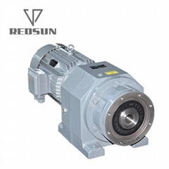 R series gearbox for single plastic extruder mahcinery