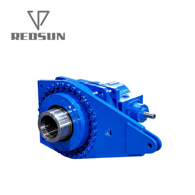 Planetary bevel gearbox gear motor reducer for stock farming 11