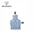 T series construction machinery parts gearbox agricultural bevel gearbox
