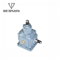 T series construction machinery parts gearbox agricultural bevel gearbox 2