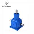 T transmission spiral bevel gearbox 2