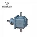 T transmission spiral bevel gearbox 5
