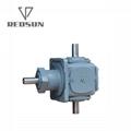 T transmission spiral bevel gearbox 6