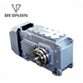 BH series bevel helical high quality speed reducer gearbox for all machines