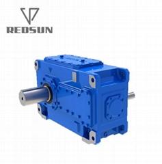 H工業齒輪減速機 重型齒輪箱實心軸輸出大型齒輪機