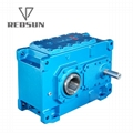 helical bevel HB series gearbox two stages three stages solid shaft 2