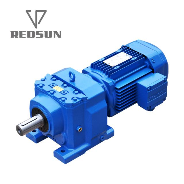 R series coaxial helical gearbox for hoist 4