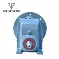 R series single stage helical gearbox gearmotor gear reducer 3