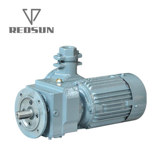 R系列R17-167型高精度低噪音反應釜攪拌器臥式斜齒輪硬齒面減速機 3