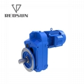 SEW parallel shaft helical hollow shaft gearbox with IEC flange