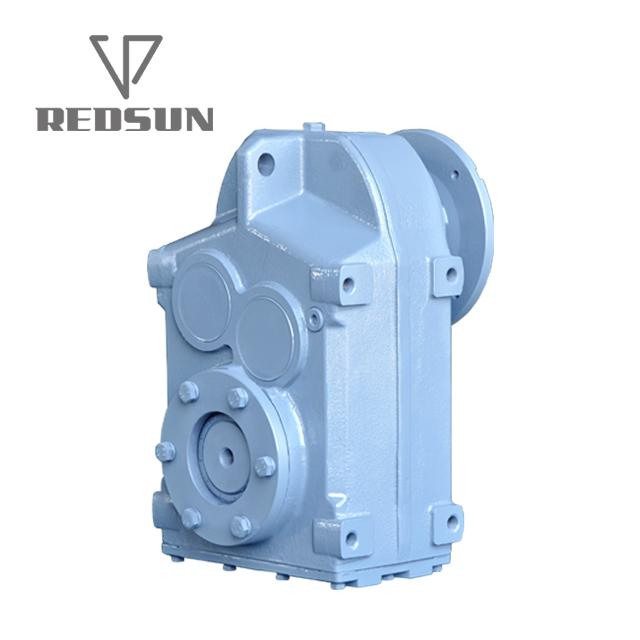 F Series Parallel Shaft Helical Gearbox / Geared Motor 2