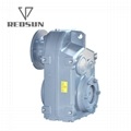 F Series Parallel Shaft Helical Gearbox / Geared Motor 3