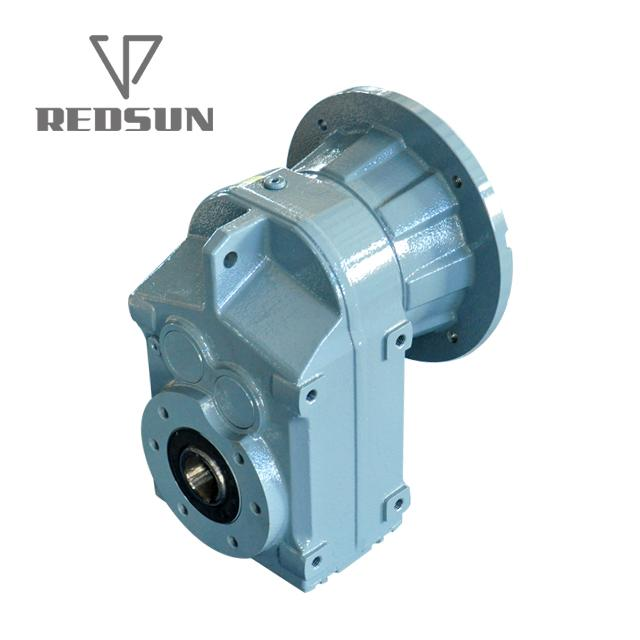 F series parallel shaft helical flenders gearbox for extruder 5