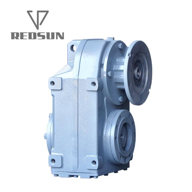 F series parallel shaft helical flenders gearbox for extruder 6