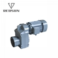F series parallel shaft helical flenders gearbox for extruder