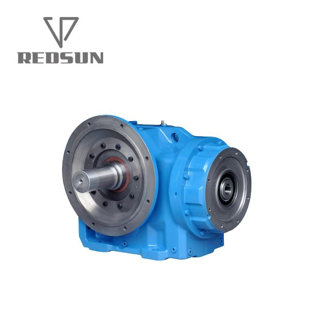 K bevel helical gearbox right angle bevel gear reducer with IEC flange 3