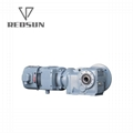 K series helical bevel gearbox for screw conveyor
