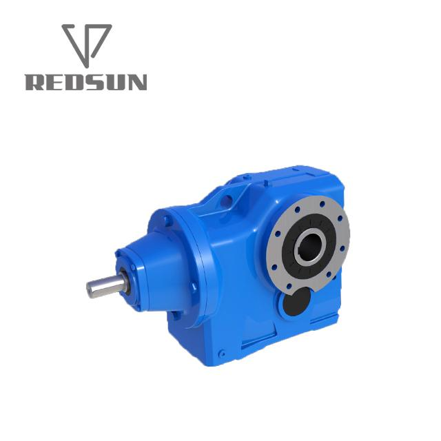 K series right angle output helical gear reducer/ gearbox for foam press compact 4