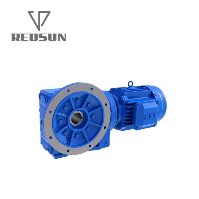 K系列傘輪錐齒輪實心軸輸出大扭矩高效率減速機 5