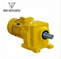 R series helical output flange speed reducers with IEC input flange 3
