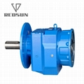 R series helical output flange speed