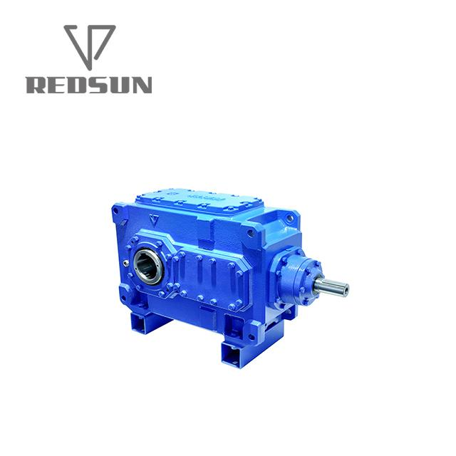 High Torque electric motor reduction bevel gear gearbox 6