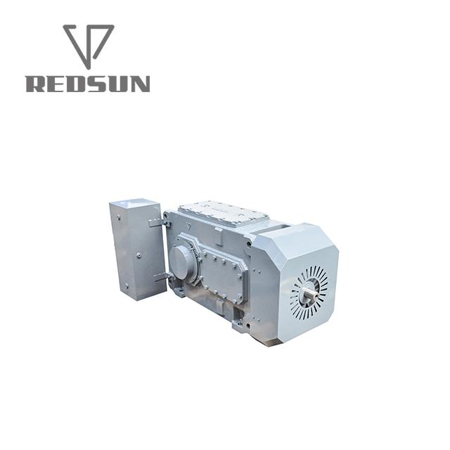 High Torque electric motor reduction bevel gear gearbox 7