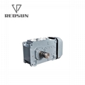 High Torque electric motor reduction bevel gear gearbox 9