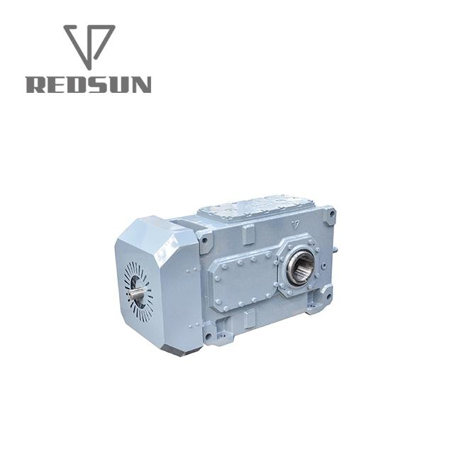 High Torque electric motor reduction bevel gear gearbox 11