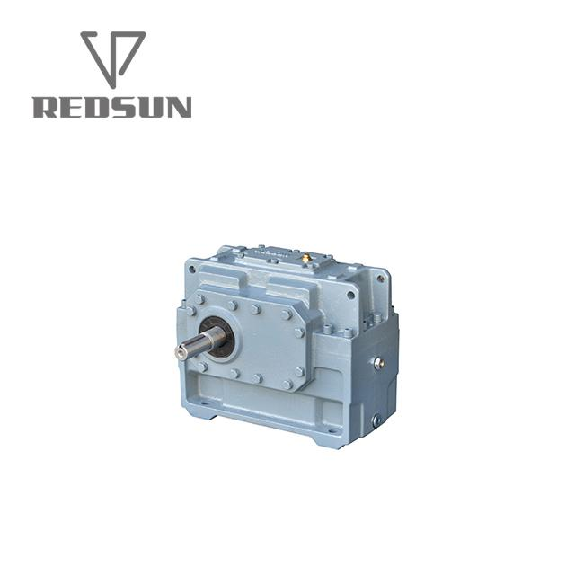 High Torque electric motor reduction bevel gear gearbox 12