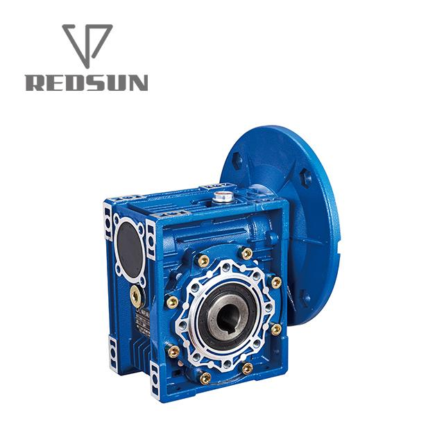 NMRV worm Aluminum housing gearbox 3