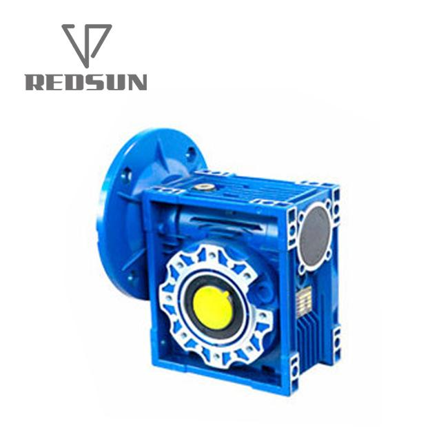 NMRV worm Aluminum housing gearbox 6
