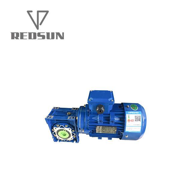 NMRV鋁合金蝸輪蝸杆減速機配無極電機 2