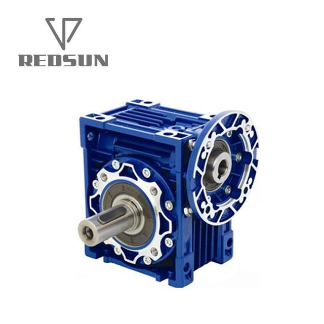 NMRV铝合金蜗轮蜗杆减速机配无极电机 4