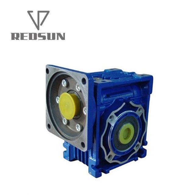 NMRV鋁合金蝸輪蝸杆減速機配無極電機 9