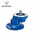 NMRV铝合金蜗轮蜗杆减速机配无极电机 12