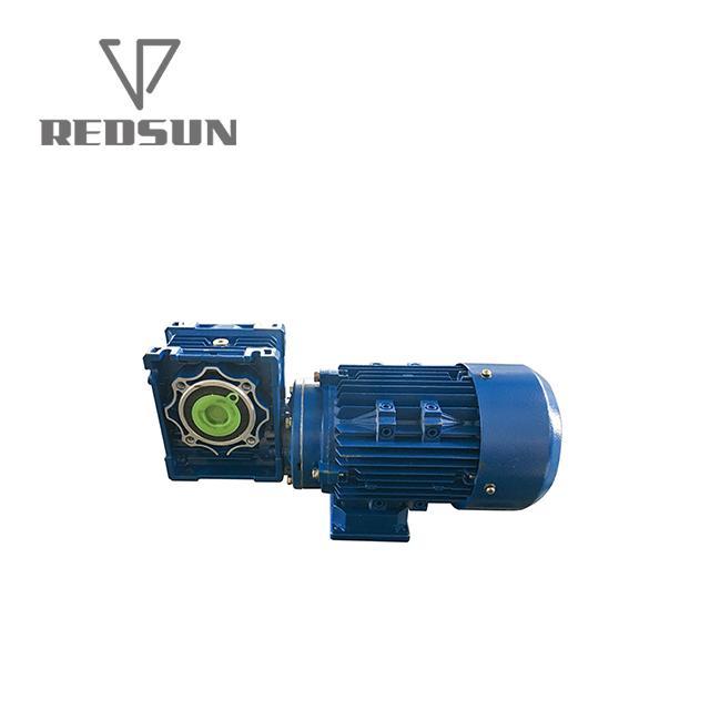 NMRV鋁合金蝸輪蝸杆減速機配無極電機 13