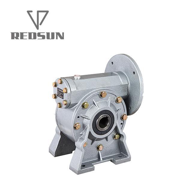 NMRV鋁合金蝸輪蝸杆減速機配無極電機 14