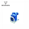 F series parallel helical shaft gearbox with electric gear motor