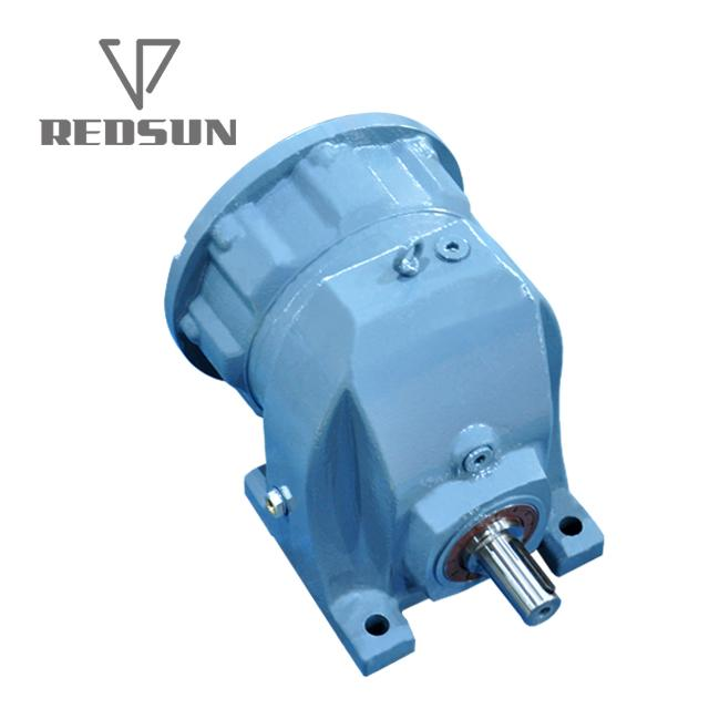 RX single stage helical gearbox without motor 6