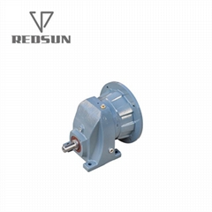 RX single stage helical gearbox without motor