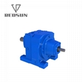 RS solid shaft input helical gearbox
