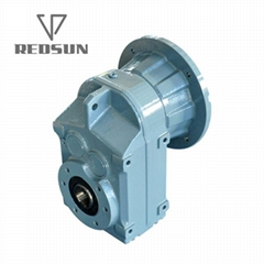 Parallel shaft helical gearbox FA hollow shaft