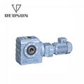 SA worm helical gear motor with AC motor