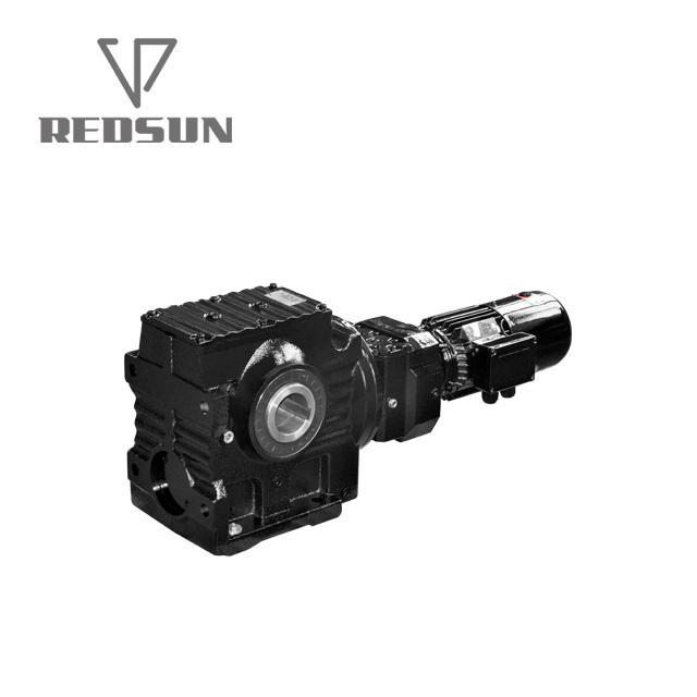 SA涡轮蜗杆减速电机带交流电机 5